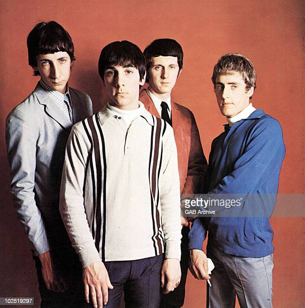 Photo of The Who in 1965 LR Pete Townshend Keith Moon John Entwistle Roger Daltrey