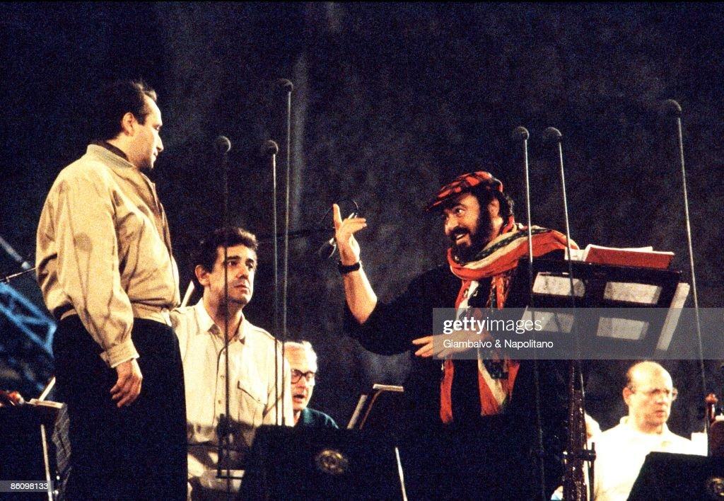 Photo of THREE TENORS and Luciano PAVAROTTI and Placido DOMINGO and Jose CARRERAS