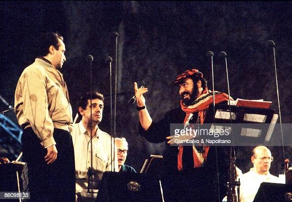 Photo of THREE TENORS and Luciano PAVAROTTI and Placido DOMINGO and Jose CARRERAS