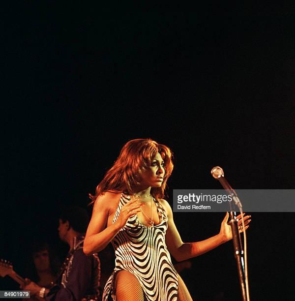 ODEON Photo of Tina TURNER and Ike Tina TURNER Tina Turner performing on stage