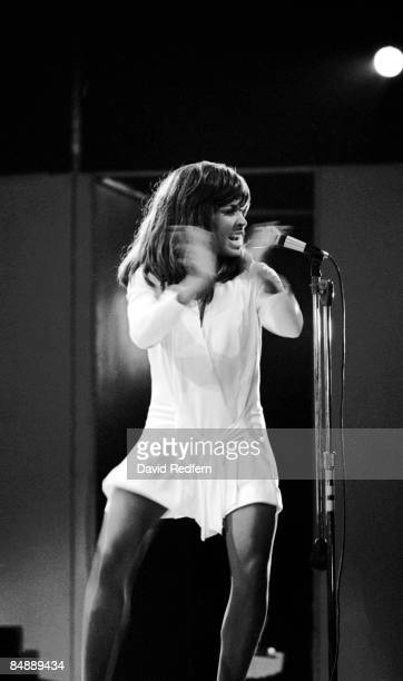 FESTIVAL Photo of Tina TURNER and Ike Tina TURNER with Ike Tina Turner performing live onstage