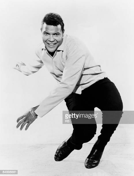 Photo of TWIST and Chubby CHECKER Posed studio portrait of Chubby Checker doing the Twist