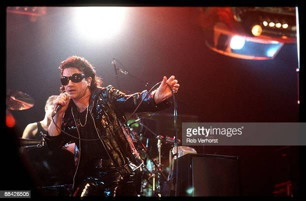 AHOY Photo of U2 and BONO Bono performing on stage Z00 TV Tour