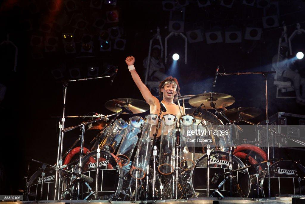 Photo of VAN HALEN; Alex Van Halen