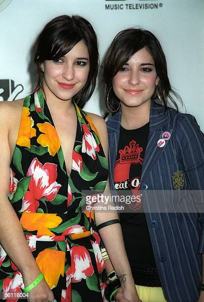 HOLLYWOOD Photo of VERONICAS Australian singing duo The Veronicas at MTV Presents Next Generation Xbox Revealed held at The Avalon in Hollywood Calif...