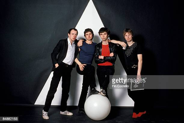Photo of XTC Barry Andrews Terry Chambers Colin Moulding and Andy Partridge