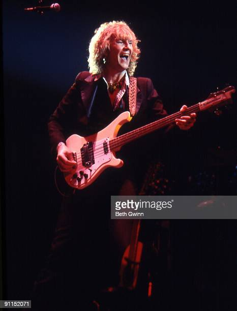 NASHVILLE Photo of YES and Chris SQUIRE Chris Squire performing on stage