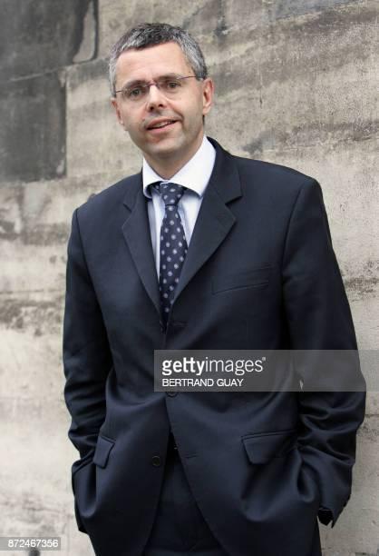 Photo prise le 08 novembre 2006 à Paris de Michel Combes PDG de TDF l'un des principaux diffuseurs français de radio et de télévision Michel Combes a...