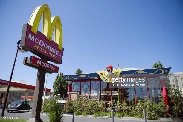 Photo prise le 20 juin 2011 à Marseille d'un restaurant Mc Donald's dans lequel un jeune homme avait mangé quelques jours avant de décéder Une...