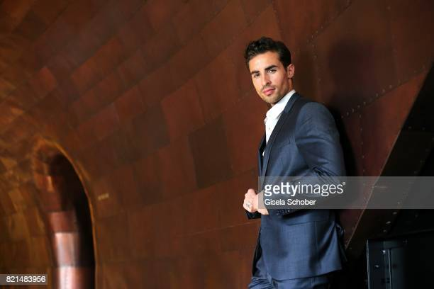 Photo session with model and blogger Dario Carlucci at the hotel Mondrian prior the Jaguar Land Rover global reveal and presentation of the premium...