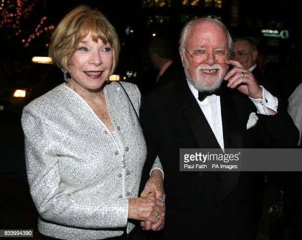 Photo Shirley MacLaine and director Lord Attenborough arrive for the premiere of Closing the Ring at the Waterfront Hall in Belfast