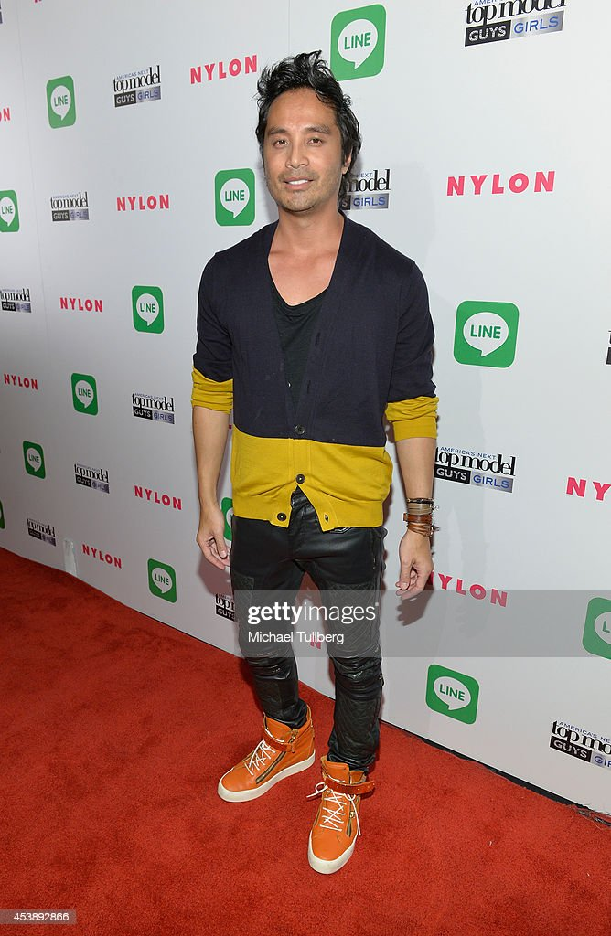 Photo shoot creative consultant Yu Tsai attends the premiere party for Cycle 21 of 'America's Next Top Model' presented by NYLON magazine and the LINE messaging app at SupperClub Los Angeles on August 20, 2014 in Los Angeles, California.