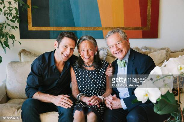 Photo shoot with Mark Audrey and Harvey Feuerstein at the Upper East Side apartment in NYC 'TV MD' Harry and Judy shower Andrew with attention after...