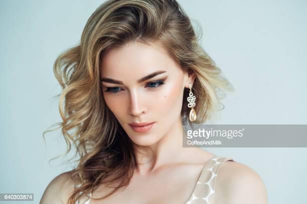 Captura de foto de jovem Mulher bonita