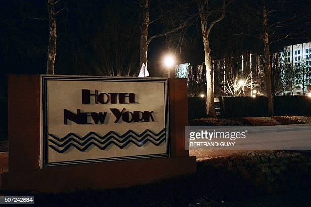 A photo shows a view of an hotel in Disneyland Paris where a man carrying two handguns ammunition and a Koran was arrested on January 28 2016 in...