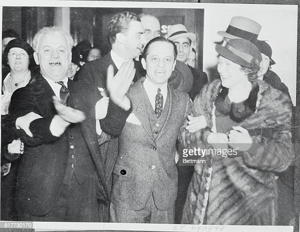 Photo shows Attorney Louis Piquette as he left Federal Court at Chicago after he had been acquitted by a Federal jury of charges of harboring John...