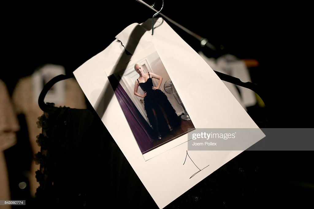 A general view backstage ahead of the Ewa Herzog show during the Mercedes-Benz Fashion Week Berlin Spring/Summer 2017 at Erika Hess Eisstadion on June 28, 2016 in Berlin, Germany.