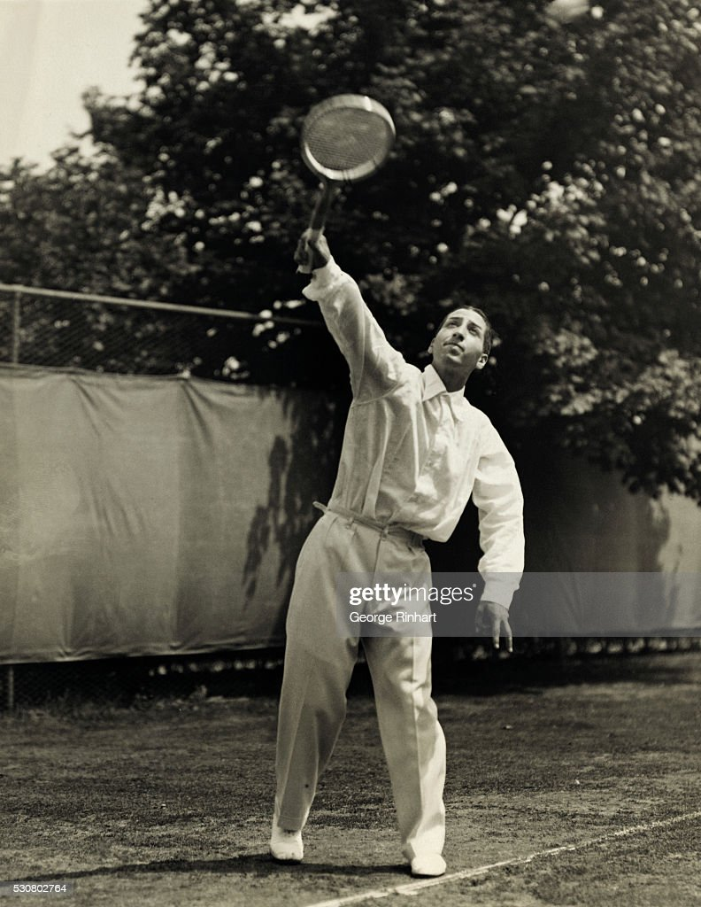 Action Shot of Rene Lacoste