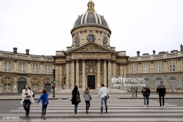 A photo shows the Academie Francaise headquarters on May 16 2015 in Paris AFP PHOTO LIONEL BONAVENTURE