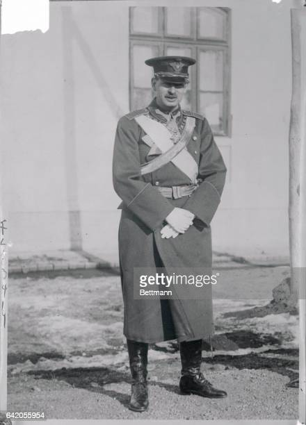 Photo shows the last picture made of ex Crown Prince of Rumania which was just received from Rumania