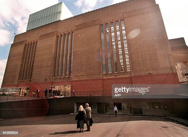 Photo taken 06 April 2000 of the outside of the newly renovated Tate Modern Gallery in London which has just undergone a 134 million pound facelift...