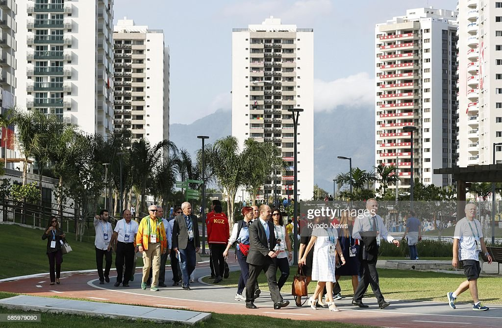 Photo taken Aug 4 shows the athletes village for the Rio de Janeiro Olympics which will start on Aug 5