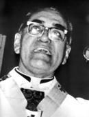 Photo taken in 1979 of San Salvador Archbishop Oscar Arnulfo Romero