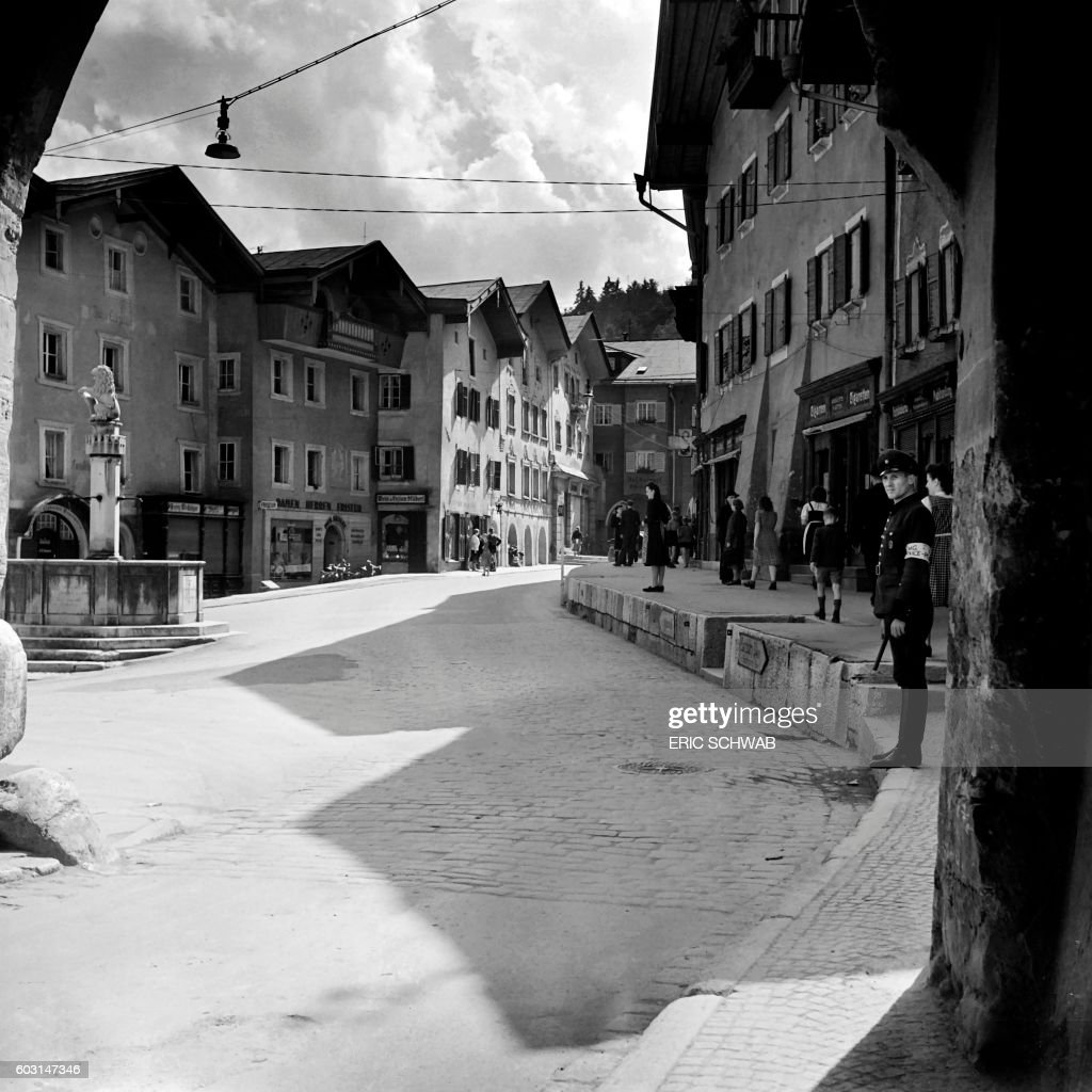 photo taken in may 1945 shows a view of berchtesgaden bavaria