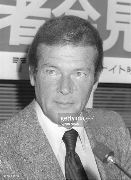 Photo taken in November 1979 shows actor Roger Moore best known for playing James Bond in seven '007' films in the 1970s and 1980s Moore died at his...