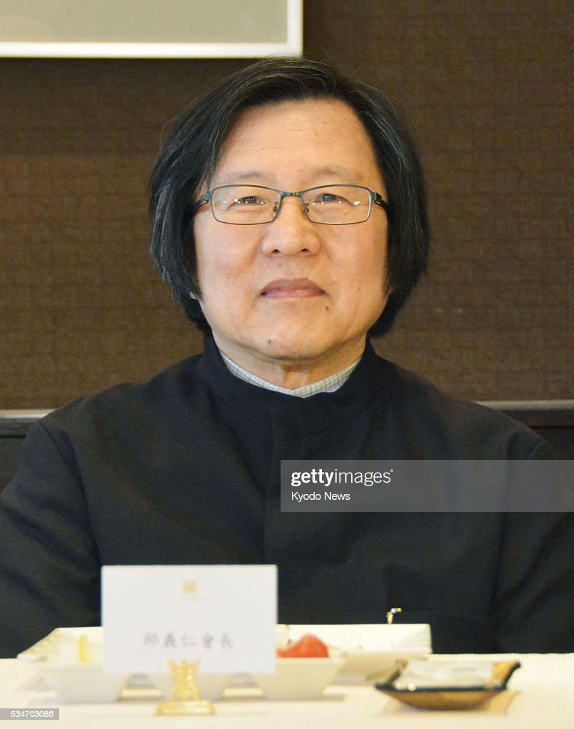 Photo taken May 27, 2016, in Taipei shows Chiou I-jen, a heavyweight of the ruling Democratic Progressive Party who was elected that day as chairman of the Association of East Asian Relations, Taiwan's semi-official agency handling the island's relations with Japan.