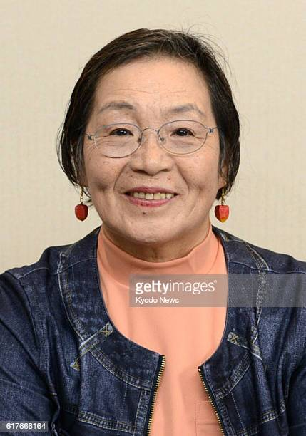 Photo taken Oct 24 shows Japanese mountaineer Junko Tabei the first woman to conquer Mt Everest in 1975 Tabei died of peritoneal cancer at a Saitama...