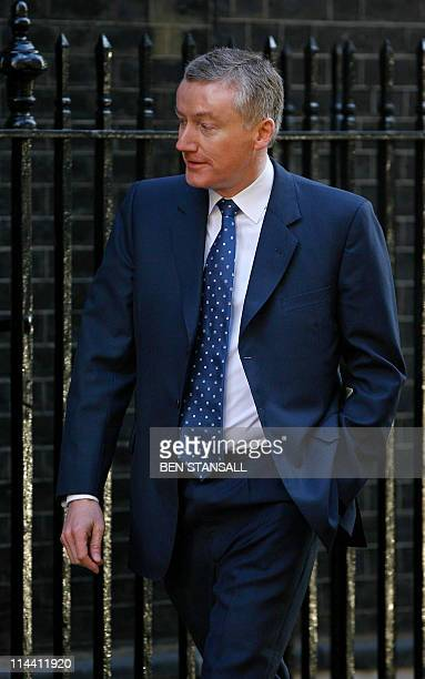 Photo taken on April 15 2008 shows former Royal Bank of Scotland Group Chief Executive Sir Fred Goodwin in Downing Street in London for a meeting...