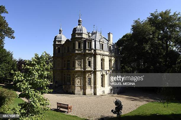 A photo taken on August 21 2015 shows the Chateau de MonteCristo in Le PortMarly centralnorthern France The chateau was built in 1846 to serve as the...