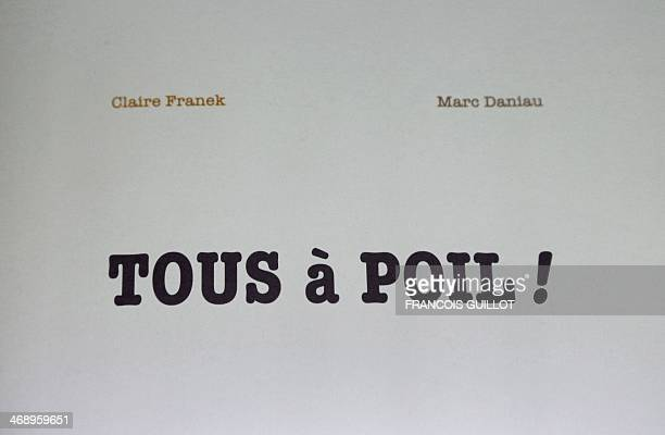 Photo taken on February 12 2014 at the offices of the French publishing house Editions du Rouergue in Paris shows the cover of the children's book...