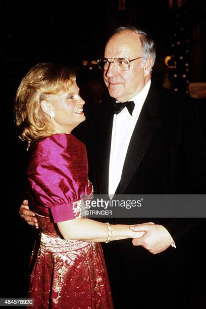 Photo taken on February 20 1989 shows West German Chancellor Helmut Kohl and his wife Hannelore dancing during a TV show AFP PHOTO
