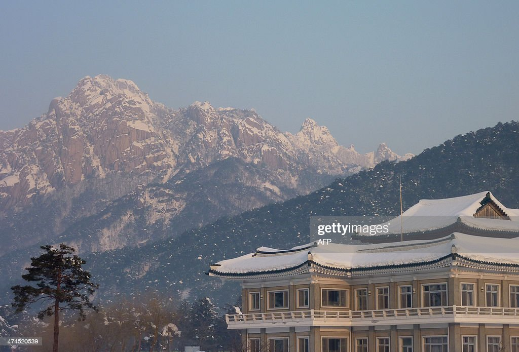 A photo taken on February 22, 2014 shows a general view of the venue of family reunions between North and South Koreans in the Mount Kumgang resort area of North Korea. Among tens of thousands of wait-listed applicants, 85-year-old Kim Se-Rin was one of just 83 South Koreans chosen to participate in a meeting of family members divided by the 1950-53 Korean War. Kim left his hometown in the North Korean county of Hwangju in December 1950 at the height of the war to join the South Korean army, without telling his parents, his brother or his two sisters. In the six decades since, he had no contact with those he left behind, not knowing whether they were alive or dead. Millions of Koreans were separated by the conflict and permanent division of the peninsula. The joy of reunion is tempered by the pain of the inevitable -- and permanent -- separation at the end. Although he knew it would be near impossible to expect answers to more than 60 years worth of questions, Kim was grateful to have finally heard how his parents died and how his other relatives lived during the years since he left. Of the 125,000 South Koreans who have applied for reunions since 1988, 57,000 have died with time rapidly running out for those on the wait list.