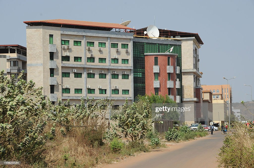 A photo taken on January 23, 2013 shows the Japanese Embassy in Bamako. Japan said on January 23 it was closing its embassy in Mali over security fears amid a French-led assault against Islamists which has sparked concerns of a backlash against ethnic Arabs and Tuaregs.