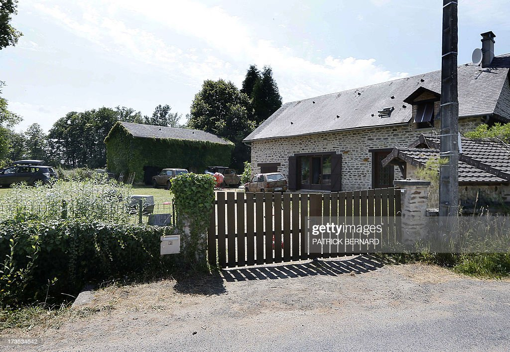 A photo taken on July 16, 2013 shows the house of Norwegian neo-Nazi black metal rocker and convicted killer, Kristian Vikernes, in the hamlet of Las Fleyras near the village of Salon La Tour outside the central French city of Limoges. Vikernes, who is reportedly a sympathizer of Norwegian mass killer Anders Behring Breivik, was arrested by intelligence officers at dawn at his home as was his French wife Marie Cachet, 25. The French Interior Ministry said the 40-year-old who goes by the stage name 'Varg' is 'close to the neo-Nazi movement' and could have been preparing a 'major terrorist act.' Vikernes, who was once sentenced to 21 years in prison in Norway for stabbing to death one of his friends, had been under surveillance for several years.