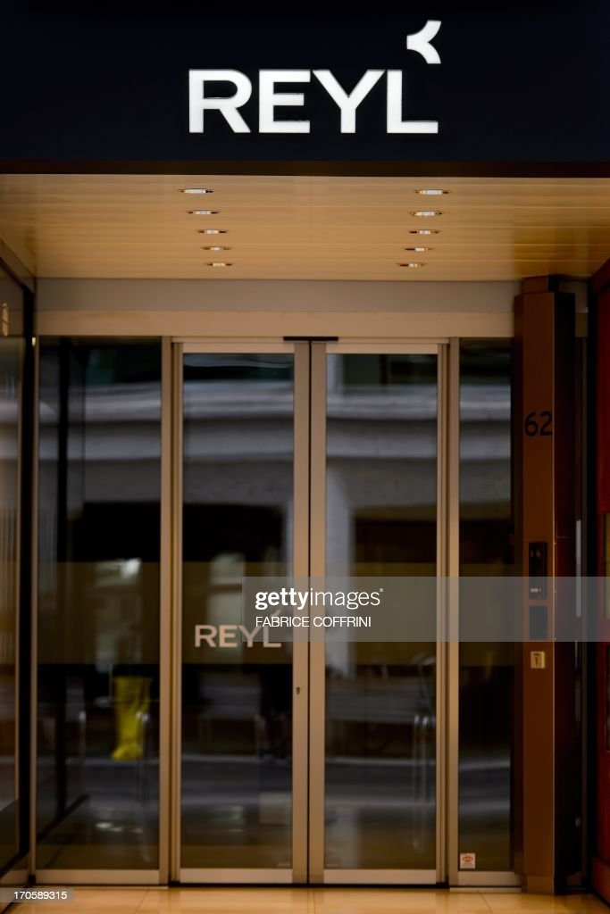A photo taken on June 15, 2013 shows the entrance of the bank Reyl in the financial district of Geneva. French justice has opened on May 31, 2013 an investigation in connection with the activities of the private Reyl bank and French nationals holding accounts at the bank and suspected of tax evasion.