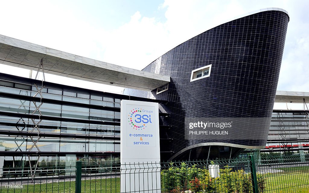 Photo taken on June 27, 2013 shows the headquarters of 3 Suisses International (3SI) group, in Villeneuve-d'Ascq, France on June 27, 2013. Denis Terrien, director general of 3SI, announced on June 27 that the German group Otto, the second world leader in e-commerce, has proposed to buy the bulk of 3SI's e-commerce activities. AFP PHOTO / PHILIPPE HUGUEN