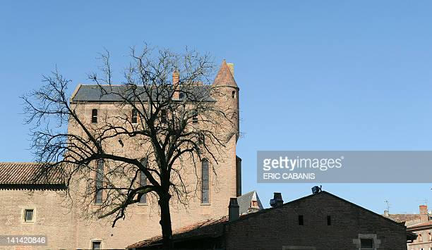 A photo taken on March 15 shows the museum dedicated to French painter and lithographer Henri de ToulouseLautrec in Albi southwestern France The...