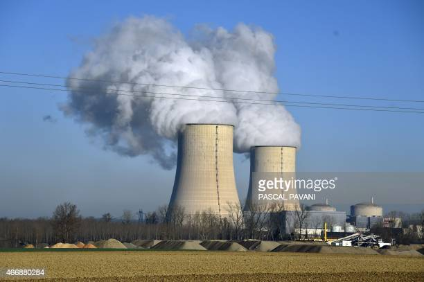 A photo taken on March 16 2015 shows the Golfech nuclear power plant in the southwestern French town of Golfech AFP PHOTO / PASCAL PAVANI