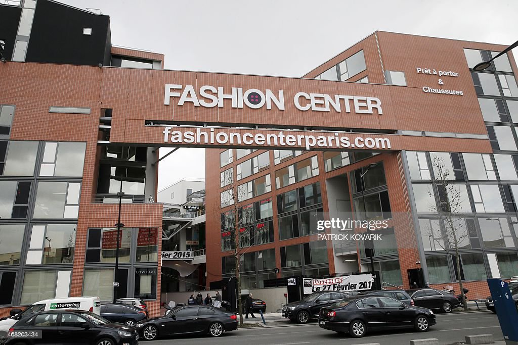 Photo taken on March 31 2015 shows the 'Fashion Center' clothing mart for Chinese wholesalers in Aubervilliers AFP PHOTO / PATRICK KOVARIK
