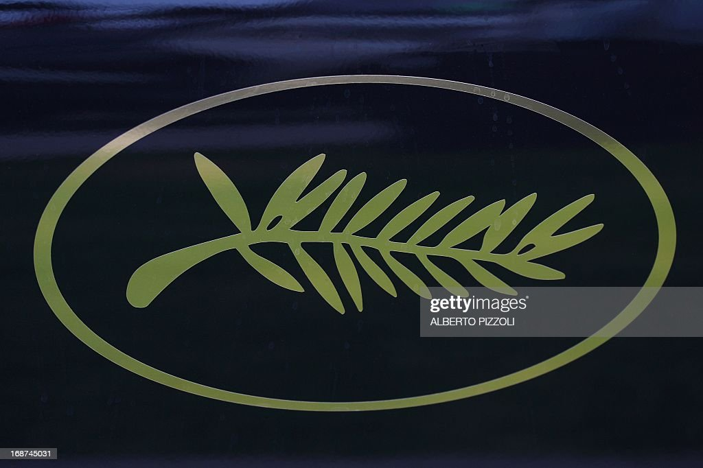 A photo taken on May 14, 2013 shows a Cannes Film Festival logo on a car on the eve of the 66th edition of the Cannes Film Festival. Cannes, one of the world's top film festivals, opens on May 15 and will climax on May 26 with awards selected by a jury headed this year by Hollywood legend Steven Spielberg.