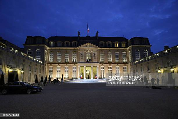 A photo taken on May 22 2013 shows the Elysee presidential palace in Paris AFP PHOTO / PATRICK KOVARIK