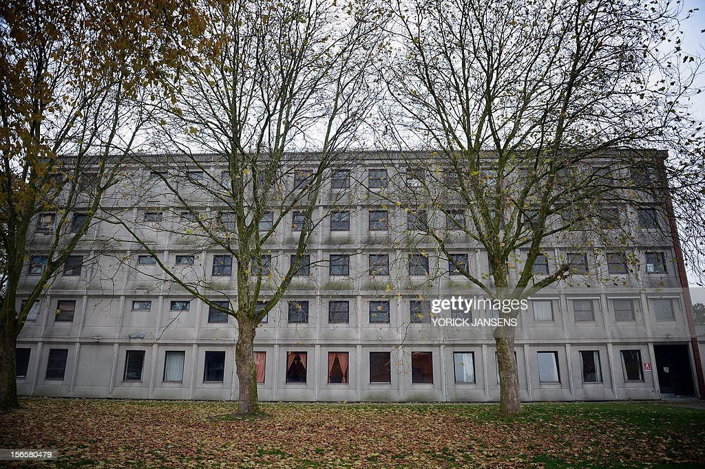 Photo taken on November 17, 2012 shows the Den Heuvel boarding school in Leopoldsburg. A Belgian newspaper reported on November 17 that multiple cases of sexual abuse between pupils of different ages were carried out in the center.