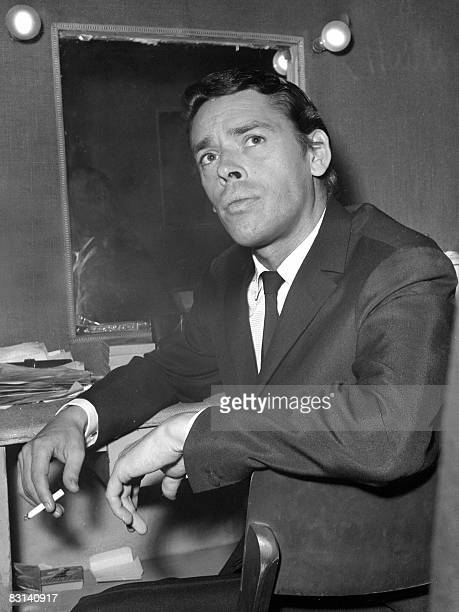 S DEATH COMMEMORATION A photo taken on October 7 1966 shows Belgianborn singer Jacques Brel at his dressing room before his concert at the Olympia...