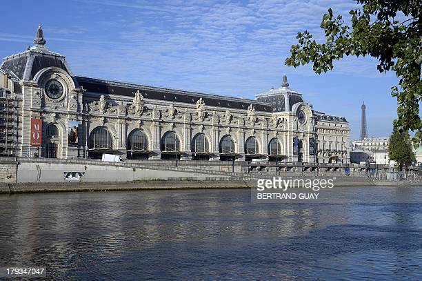 A photo taken on September 2 2013 shows the Orsay museum and the Eiffel tower in Paris AFP PHOTO BERTRAND GUAY