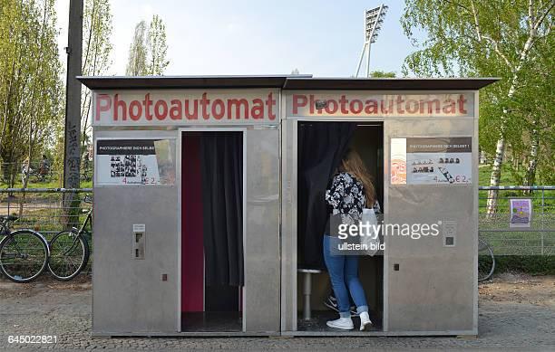 Photoautomat Eberswalder Strasse Prenzlauer Berg Berlin Deutschland