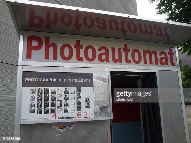Photoautomat in Kreuzberg Moritzplatz